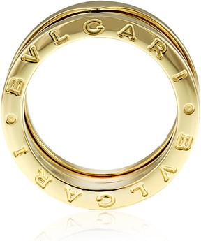 Bvlgari B.Zero1 18K Yellow Gold 3-Band Ring Size - Size 5.5
