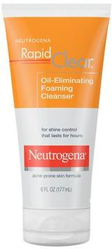 Neutrogena Rapid Clear Oil-Eliminating Foaming Cleanser