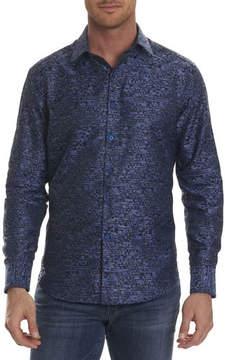 Robert Graham Tern Digital-Textured Sport Shirt