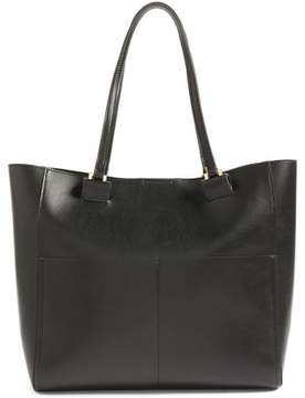 Sole Society Glenn Faux Leather Tote - Black