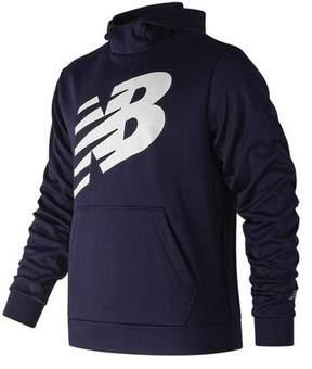 New Balance Men's MT81009 Graphic Core Fleece Hoodie