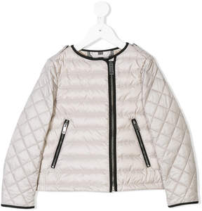 Burberry diamond quilt padded jacket