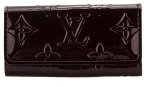 Louis Vuitton Amarante Monogram Vernis Leather Multicles 4-Key Case - AMARANTE - STYLE