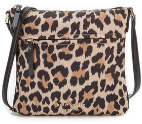 Kate Spade Watson Lane Hester Leopard-Print Cross-Body Bag - MULTI - STYLE