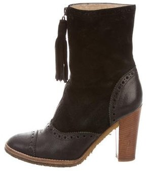 Michael Kors Brogue Ankle Boots