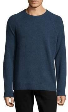 Black & Brown Black Brown Raglan Sleeve Wool Sweater