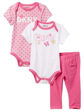 DKNY Butterflies Bodysuits and Leggings (Baby Girls 12-24M)