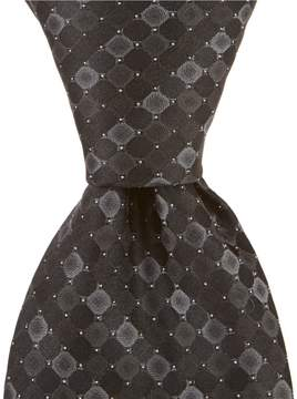 Murano Puzzle Circle Traditional 3.25#double; Silk Tie