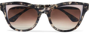 Thierry Lasry Frivolity Cat-eye Acetate Sunglasses - Tortoiseshell