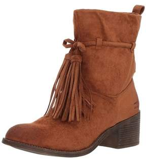 Billabong Womens Monroe Fabric Almond Toe Ankle Fashion Boots.
