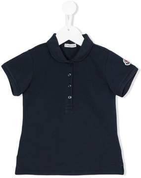 Moncler embroidered logo polo shirt