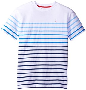 Tommy Hilfiger Kids - Printed Stripe Tee Boy's T Shirt