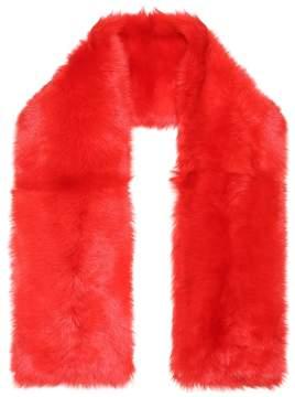 Calvin Klein Oversized shearling scarf