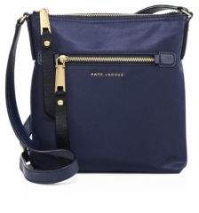 Marc Jacobs Trooper Nylon Crossbody Bag - MEDIUM GREY - STYLE