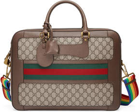 GG Supreme briefcase with Web