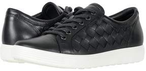 Ecco Soft 7 Woven Tie Women's Lace up casual Shoes