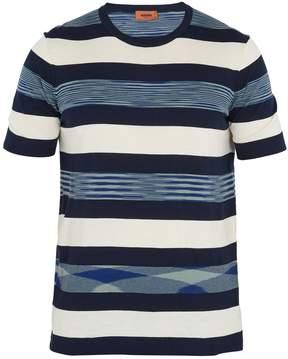 Missoni Striped cotton-knit T-shirt
