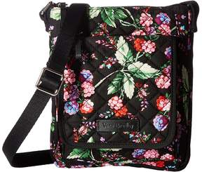 Vera Bradley Iconic RFID Mini Hipster Handbags - AUTUMN LEAVES - STYLE