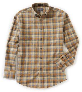 Pendleton Somerset Heather Check Long-Sleeve Woven Shirt
