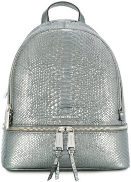 Michael Kors medium Rhea backpack - METALLIC - STYLE