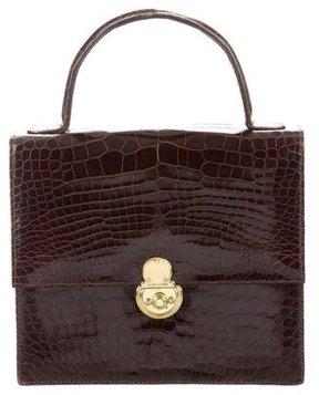 Ralph Lauren Alligator Handle Bag