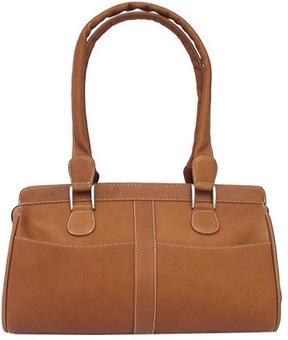 Women's Piel Leather Double Handle Handbag 2438