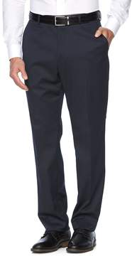 Croft & Barrow Men's True Comfort Stretch Classic-Fit Flat-Front Suit Pants