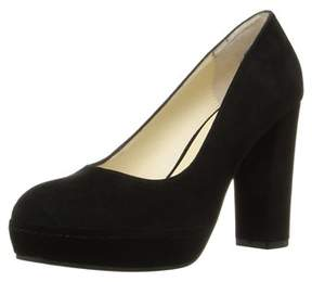 Bettye Muller Moon Platform Dress Pumps.