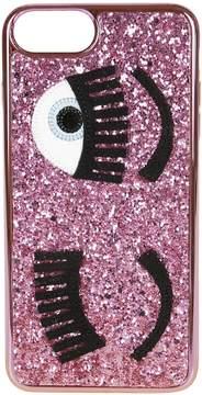 Chiara Ferragni Glittery Iphone 8+ Cover