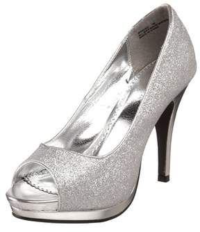 Rampage Womens Gracee 2 Peep Toe Platform Pumps.