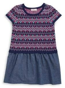 Design History Toddler's& Little Girl's Printed Knit Dress