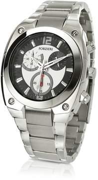 Forzieri Men's Stainless Steel Bracelet Chronograph Watch