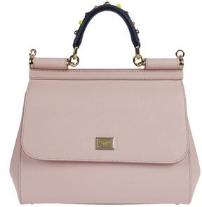 Dolce & Gabbana Sicily Tote - PINK - STYLE