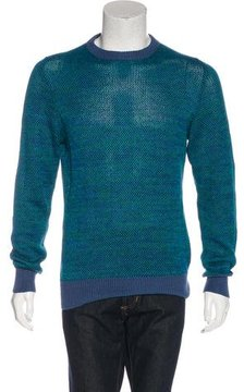 Richard James Embroidered Knit Sweatshirt