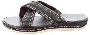 Louis Vuitton Crisscross Slide Sandals