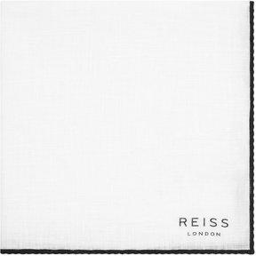 Reiss Illinois Linen Pocket Square
