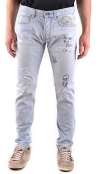 Reign Men's Light Blue Cotton Jeans.
