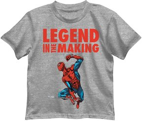 Marvel Boys 4-7 Spider-Man Legend in the Making Graphic Tee
