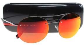 Prada U-SG-2348 SPS 54R 5AV-5M0 - Gunmetal, Brown & Orange Sunglasses for Unisex - 56 x 18 x 135 mm