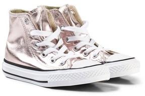 Converse Pink Kids Chuck Taylor All Star Hi-Tops