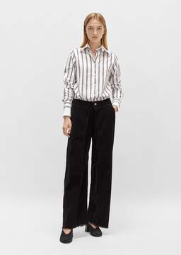 Aalto Pleated Corduroy Pant Brown Size: FR 34