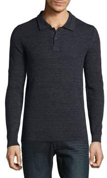Selected Bethnal Long-Sleeve Cotton top