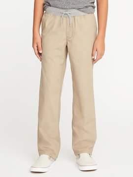 Old Navy Rib-Knit Waist Canvas Pants for Boys