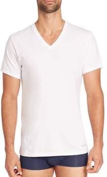 Calvin Klein Underwear Two-Pack Cotton Classic V-neck Tee