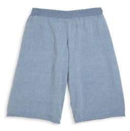 Ralph Lauren Toddlers, Little Girls and Girls Chambray Culottes