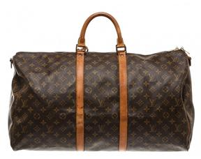 Louis Vuitton Keepall backpack - BROWN - STYLE