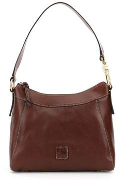 Dooney & Bourke Florentine Collection Large Cassidy Hobo Bag - CHESTNUT - STYLE