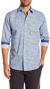 Bugatchi Pinwheel Classic Fit Shirt