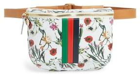 Clare Vivier Floral Leather Supreme Fanny Pack