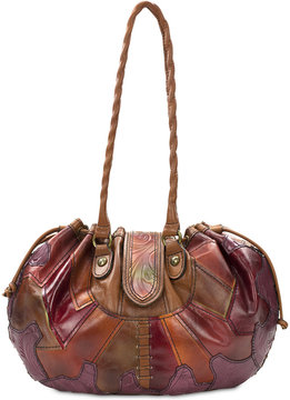 Patricia Nash Tribal Cuban Elba Drawstring Bag